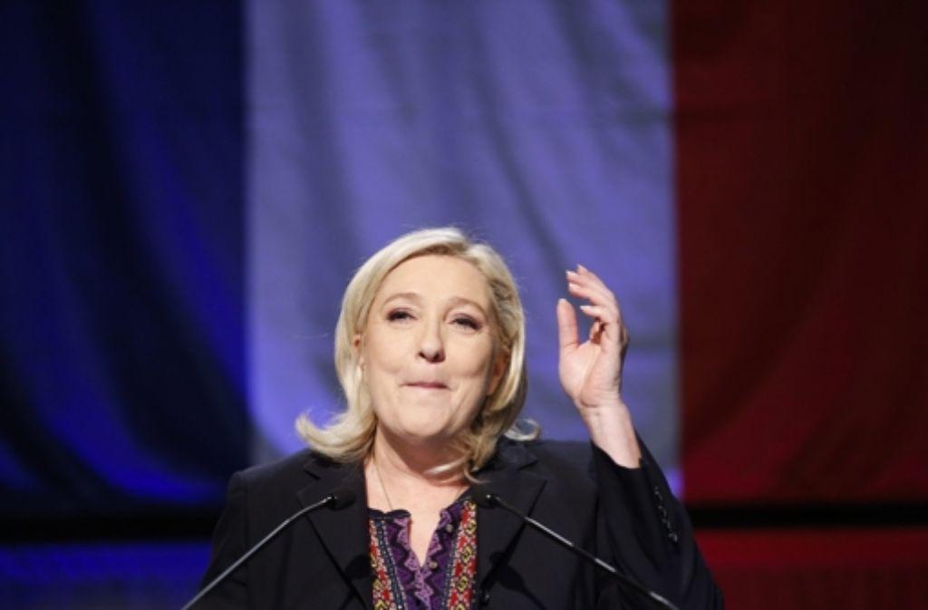 Marine Le Pen und ihr Front National haben doch keine Region gewonnen. Foto: dpa