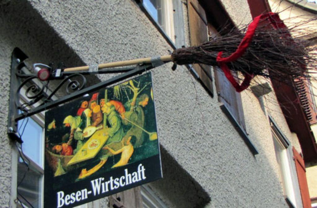 Besenwirtschaften sind jetzt ganz leicht zu finden: Folgen Sie einfach der Besen-App der Stuttgarter Zeitung. Foto: Leserfotograf remstal-knipser