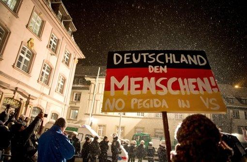 Richter erlauben Pegida das Demonstrieren