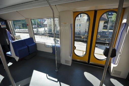 Mit der neuen Stadtbahn U12 zum Hallschlag
