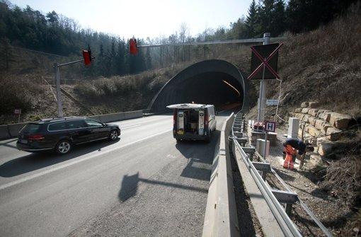 Der Schönbuchtunnel soll im zweiten Quartal 2016 saniert sein. Foto: FACTUM-WEISE