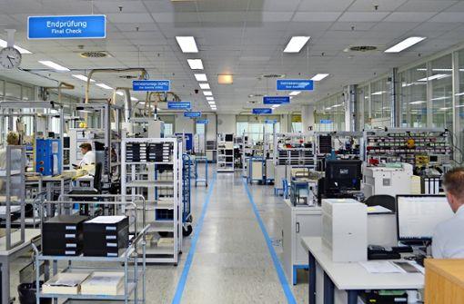 Wie bei Amazon: So arbeitet die Fabrik des Jahres in Schönaich