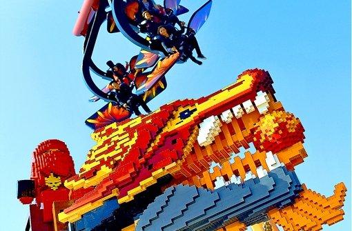 Aufruhr im Legoland