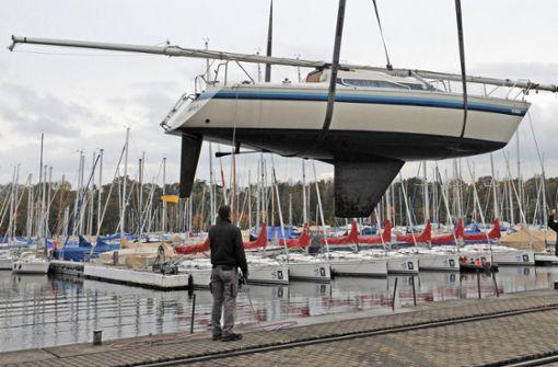 Boote in Yachthafen in Brand - rund eine halbe Million Euro Schaden