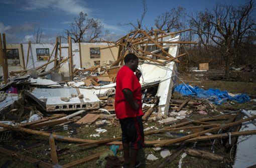 Bahamas kämpfen mit Folgen des Hurrikans