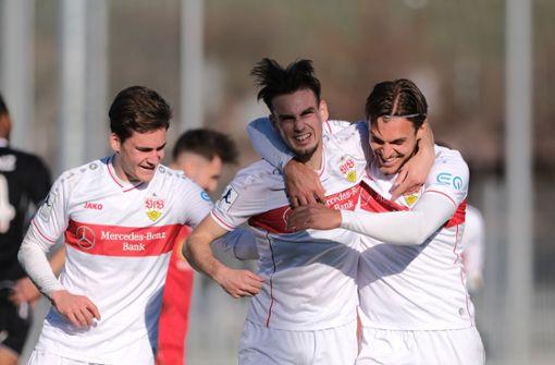 Glückliches 2:1 für den VfB Stuttgart II gegen Koblenz
