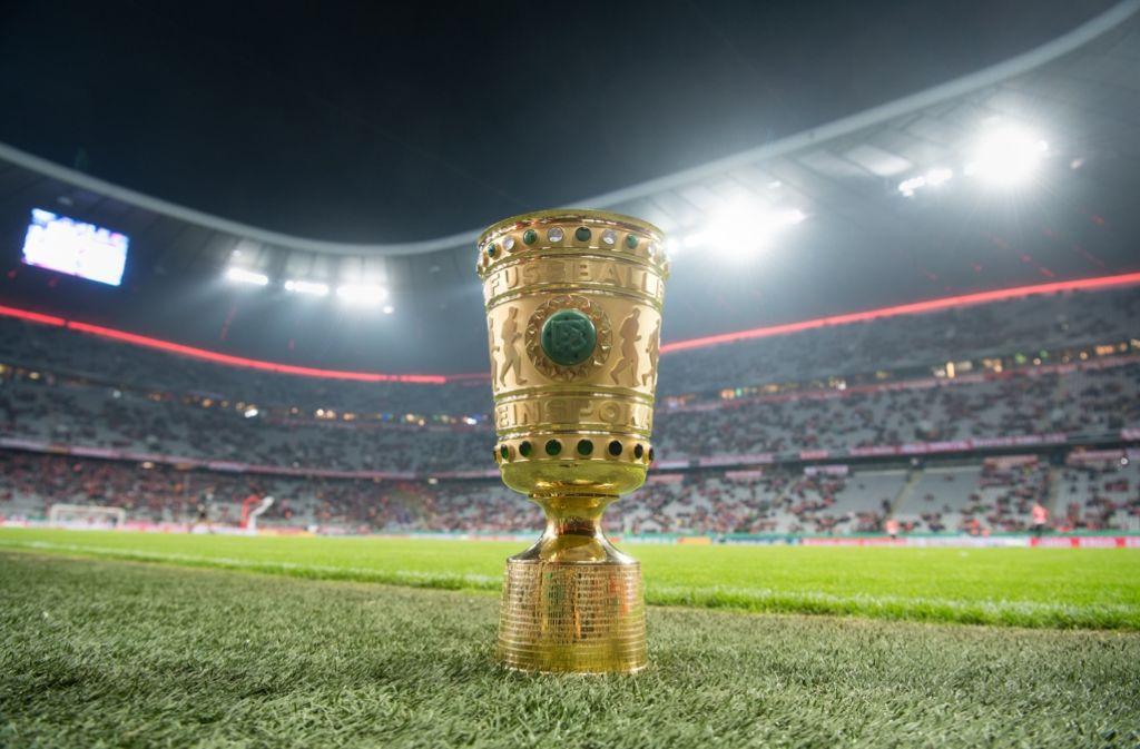 Das Achtelfinale des DFB-Pokals ist ausgelost. Foto: dpa