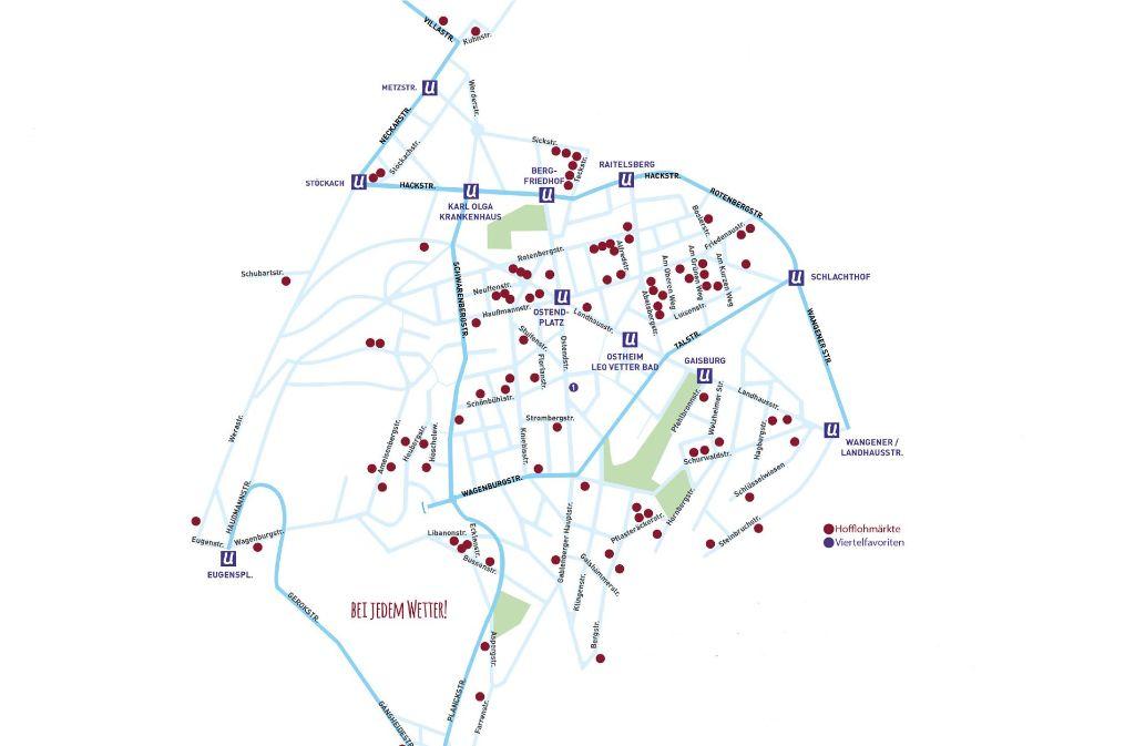In Stuttgart-Ost können Schnäppchenjäger wieder stöbern und einkaufen (www.hofflohmaerkte-stuttgart.de). Foto: