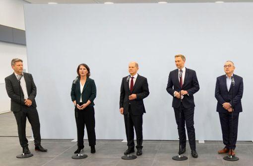 Berlins neue Dreiecksbeziehung