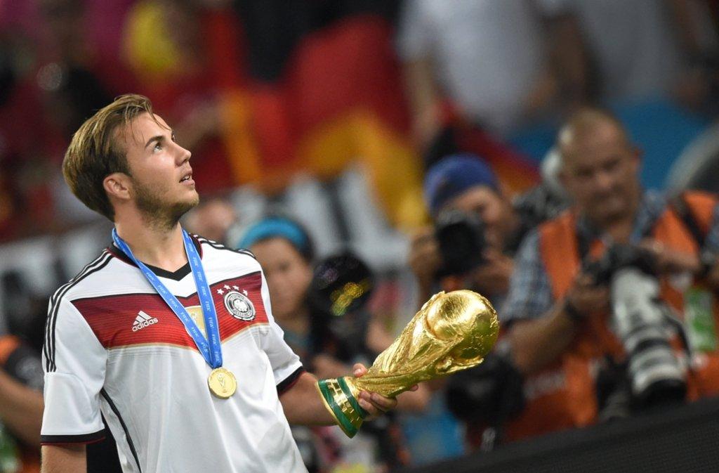 Wird Deutschland am Ende den Pokal  holen? Foto: dpa