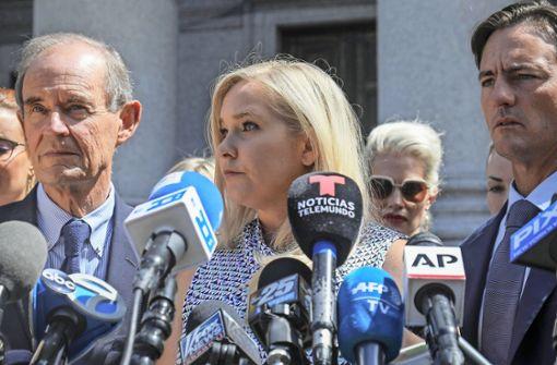 Das mutmaßliche Opfer Virginia Giuffre bekräftigt die Vorwürfe