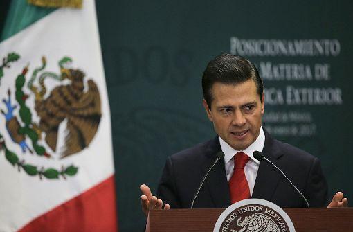 Trump lädt Staatschef Peña Nieto aus