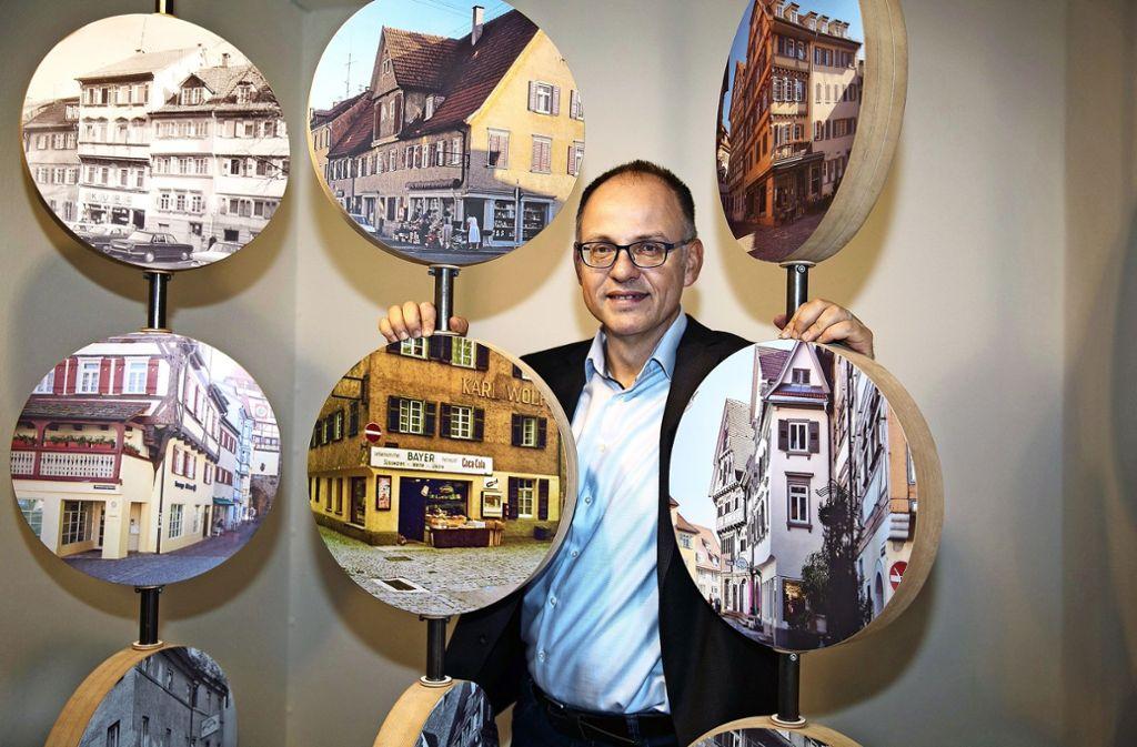 """Christian Rilling, der stellvertretende Museumsleiter, hat sich mit  seinem Team  auf """"Einkaufstour"""" begeben. Foto: Ines Rudel"""