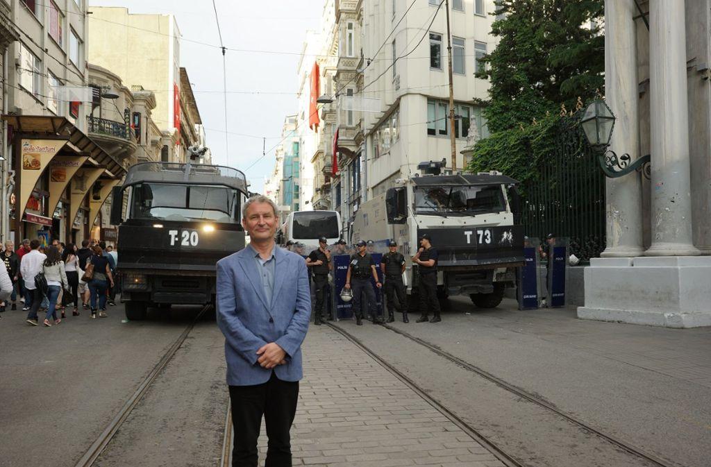 Frank Nordhausen im Jahr 2016 in Istanbul Foto: privat