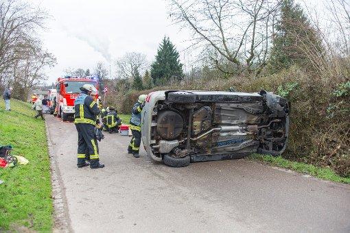 Zu einem Unfall kam es am Samstag in Stuttgart-Münster.  Foto: www.7aktuell.de | Frank Herlinger