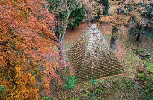 Diese Pyramide steht mitten in Niedersachsen