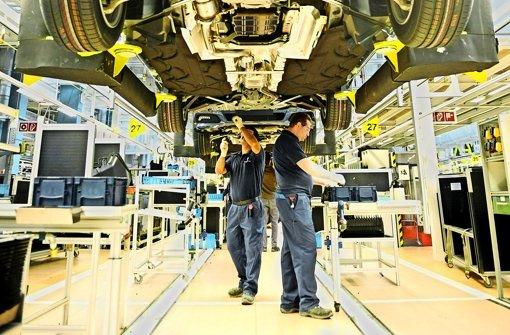 Daimler schlägt hohes Wachstumstempo an
