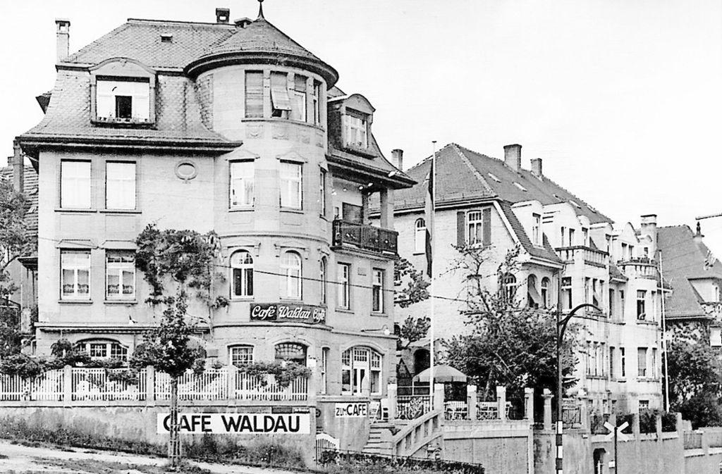 Es gab schon einmal ein Café auf dem Haigst – nämlich gegenüber des nun geplanten Panorama-Cafés. Foto: privat