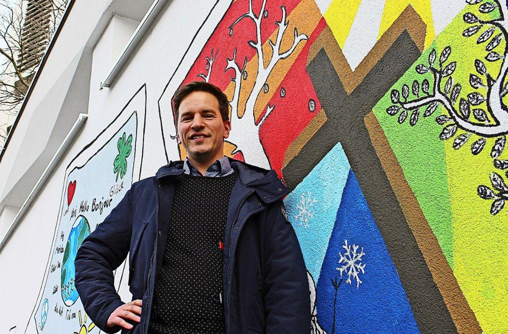 Ingo-Christoph Bauer ist der neue Pfarrer in Stuttgart-Heumaden. Foto: Holowiecki