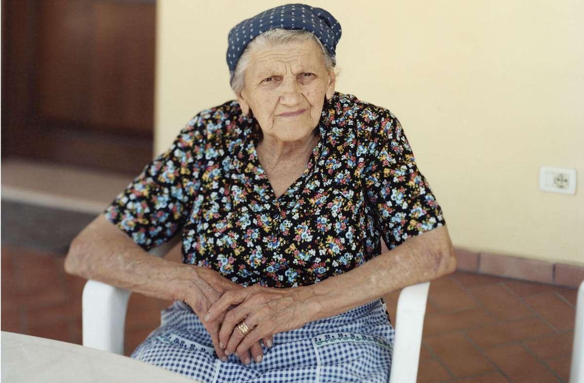 Eine Landwirtin aus Rubiera, 2009. Foto: Francesco Neri, 2020/Hartmann Books