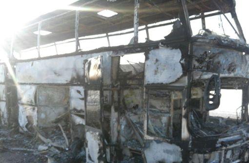 Mehr als 50 Tote bei Busunglück