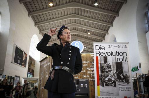 """""""Die Revolution rollt"""" durch Stuttgart"""