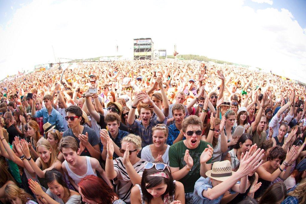 Mehr als 50.000 Besucher werden vom 20. bis 22. Juni wieder aufs Festivalgelände bei Neuhausen ob Eck strömen. Foto: FKP Scorpio