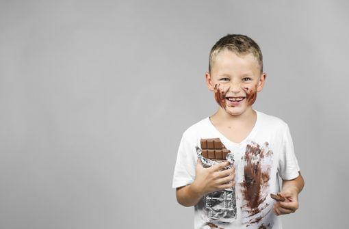 Schokoladenflecken entfernen kann hartnäckig sein...