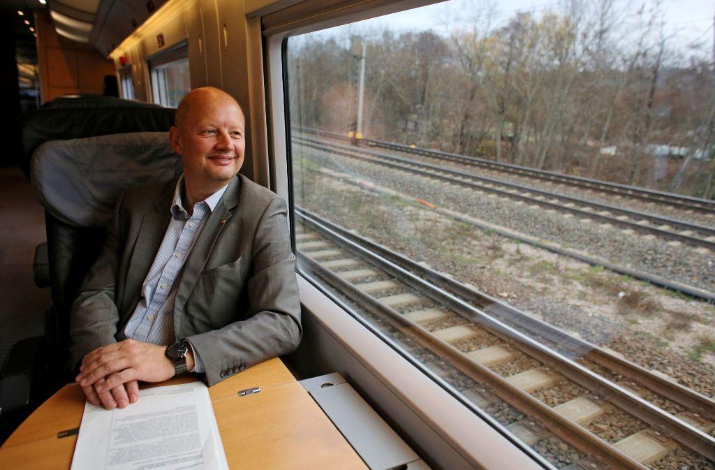 Olaf Drescher ist ein Bahn-Urgestein. Nun soll er an Stuttgart21 mitbauen. Foto: dpa