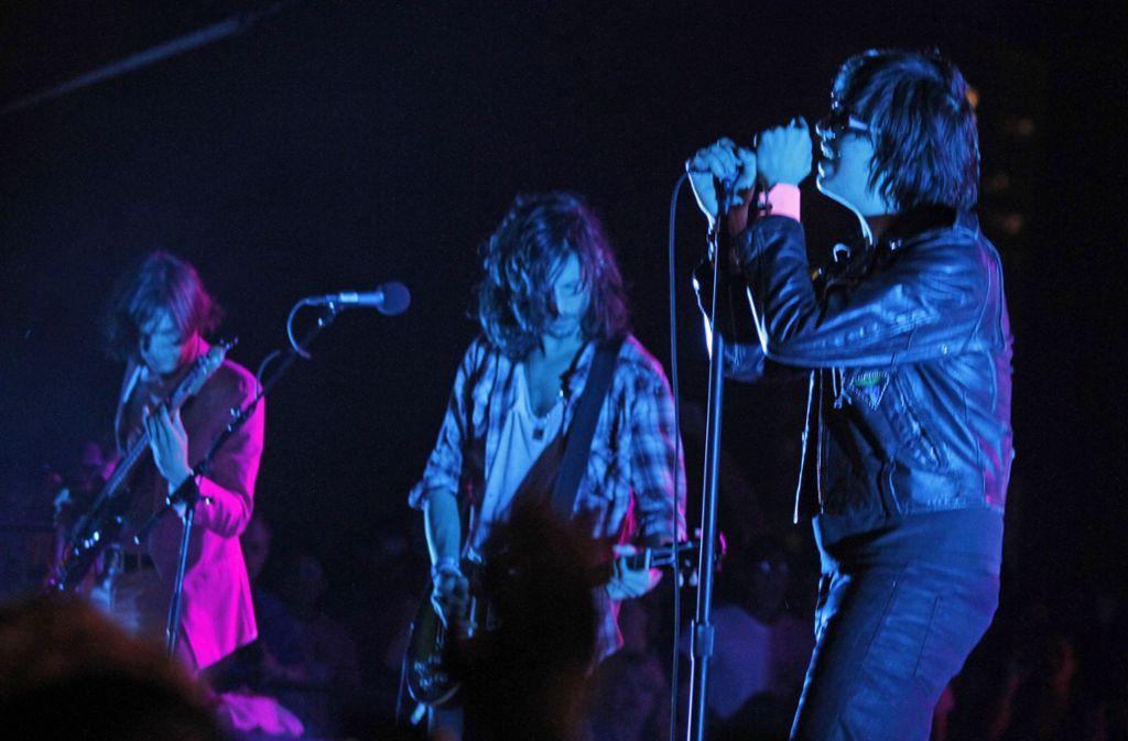 Die Strokes – vielleicht die Band des neuen Jahrtausends Foto: /Jack Plunkett