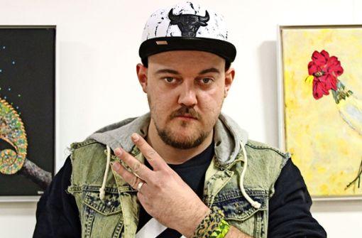 Rapper mit speziellem Mode-Faible