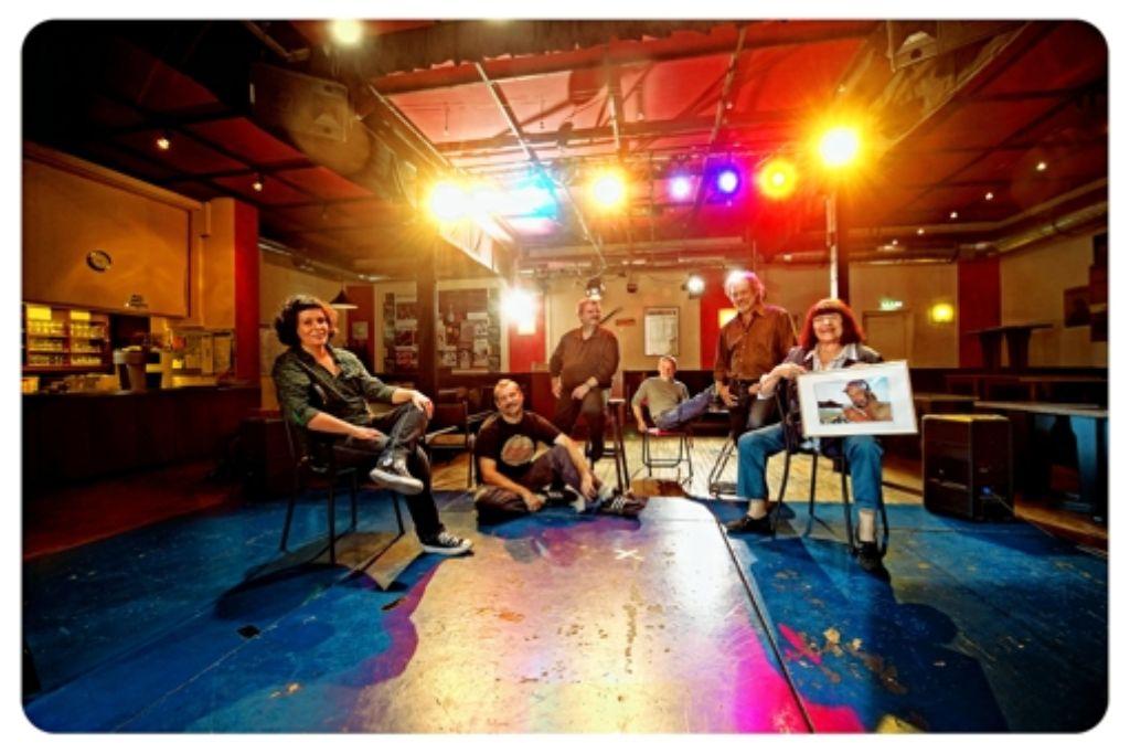 Die Macher des Laboratorium um Gründerin Heidi Schmid (ganz rechts) Foto: Martin Stollberg