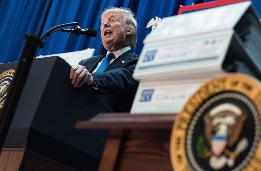 US-Bundesstaaten wollen Trump verklagen - Medien