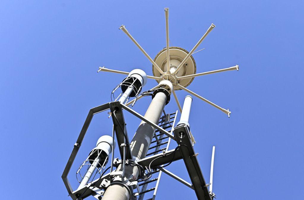 Ein Sendemast für die fünfte Mobilfunkgeneration: 5 G. Foto: APA
