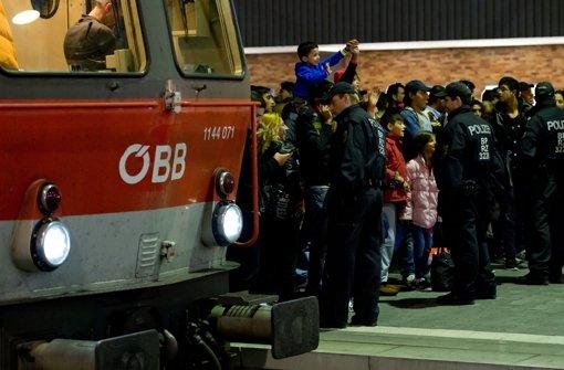 Zugverkehr aus Österreich läuft wieder