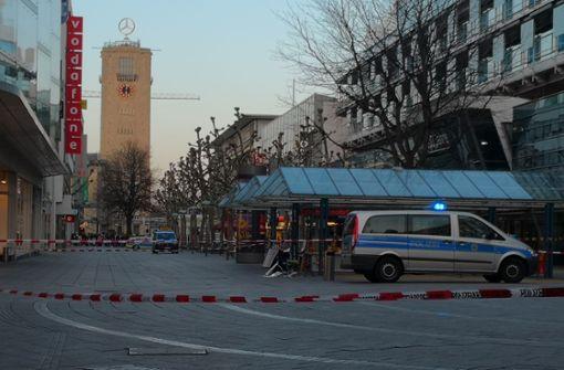 Verdächtiger Gegenstand – Polizei sperrt Königstraße