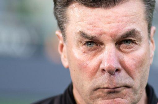 Darum hat Dieter Hecking das TV-Interview abgebrochen
