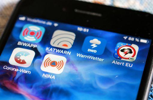 Wie schützen digitale Warn- und Wetterapps?