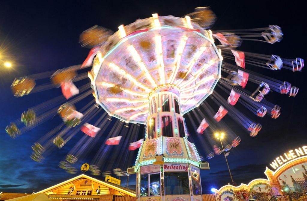 Das Stuttgarter Frühlingsfest eröffnet am 16. April. Foto: dpa
