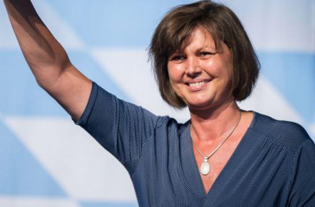Die bayerische Wirtschaftsministerin Ilse Aigner (CSU) Foto: dpa