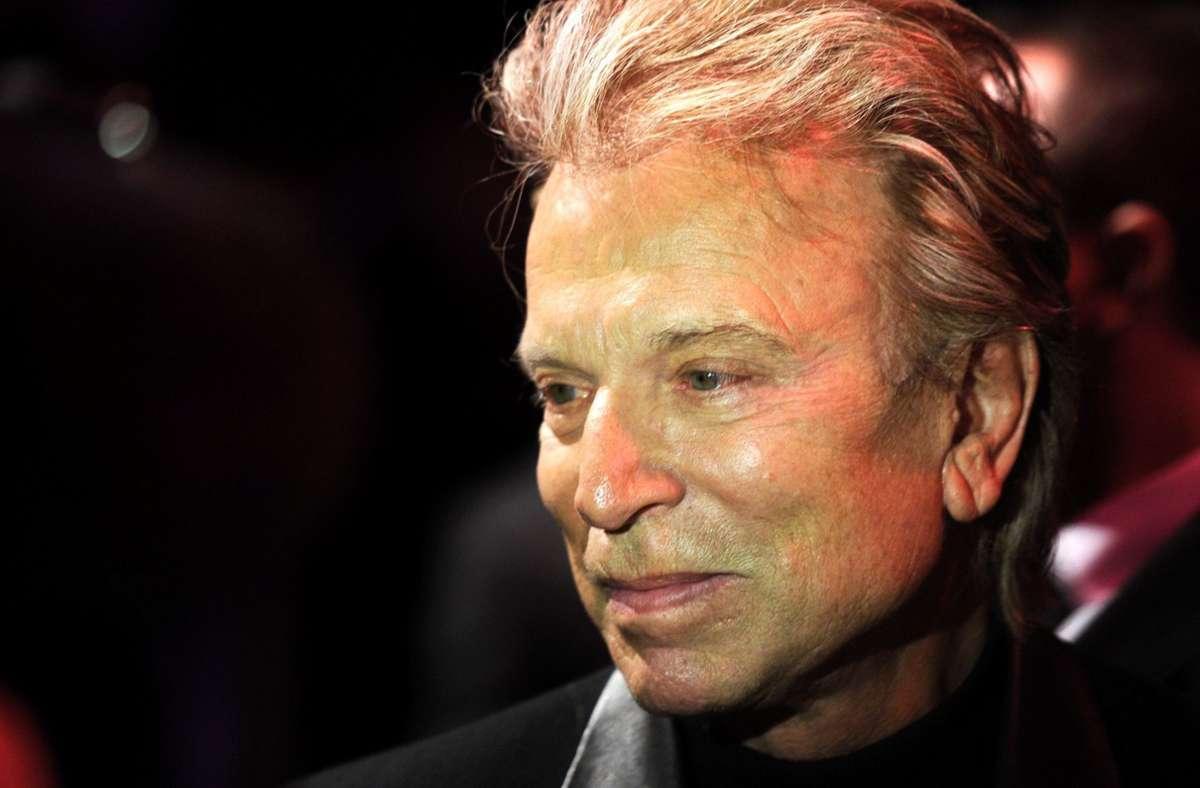 Der Entertainer Siegfried Fischbacher ist gestorben. Das Foto stammt aus dem Jahr 2012. (Archivbild) Foto: dpa/Tobias Hase