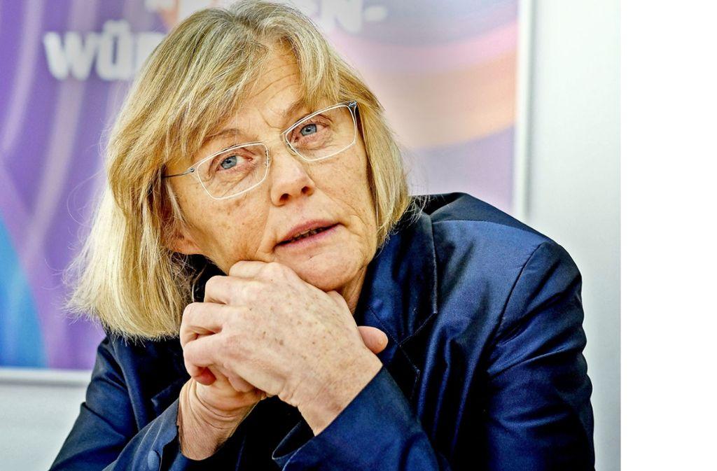 Paula Lutum-Lenger ist die neue Direktorin im Haus der Geschichte Foto: Lichtgut/Leif Piechowski