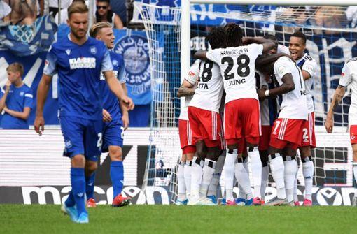 HSV siegt in Karlsruhe – Nürnberg gewinnt gegen Aufsteiger Osnabrück