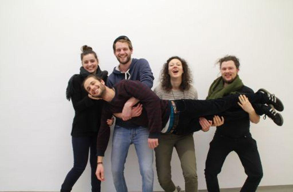 Auf dem Weg in eine immersatte Welt: Das Team der Raupe. Foto: Raupe Immersatt