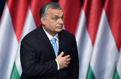 EVP setzt Mitgliedschaft von Orban-Partei aus