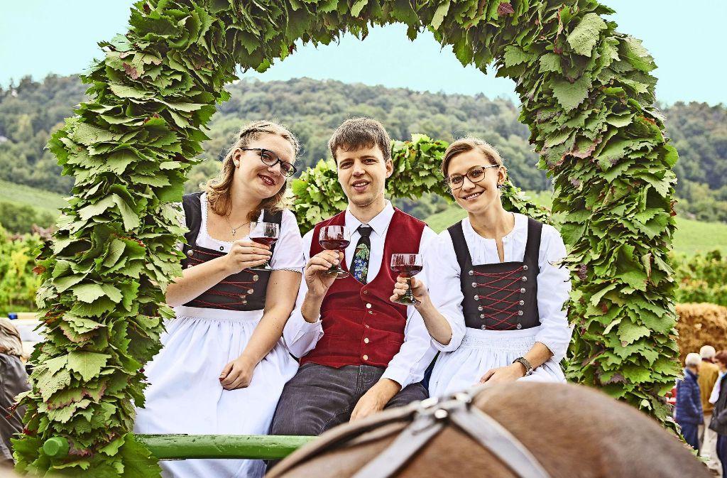 Der Fellbacher Herbst findet in diesem Jahr zum 70. Mal statt. Es werden mehr als 200000 Besucher erwartet. Foto: StZ