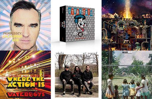 Neues von Morrissey, den Stray Cats, Flying Lotus und anderen