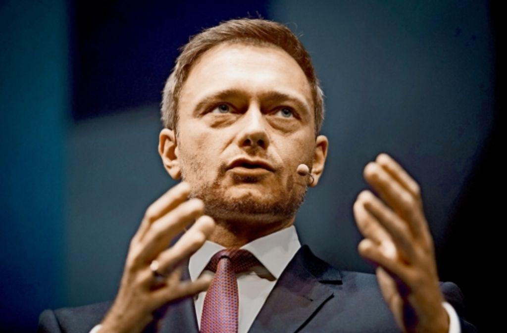 Christian Lindner sagt, die FDP könne wieder gewinnen. Foto: dpa