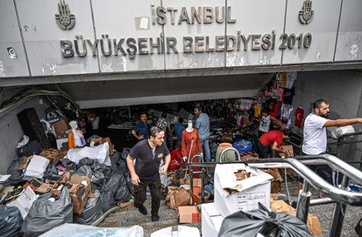 Schwere Schäden nach Unwetter in türkischer Metropole