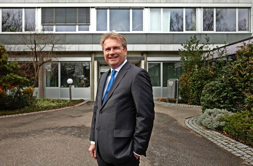 Will offenbar in die Chefetage des Leonberger Rathauses. Foto: factum/Granville